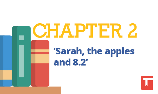 "CHAPTER 2 ""Sarah, the apples and 8.2"""